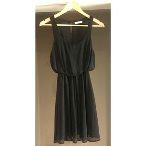 Lush Black Cocktail Dress